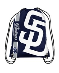 Forever Collectibles San Diego Padres Big Logo Drawstring Backpack Navy