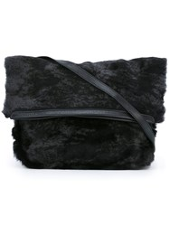 Jamin Puech Foldable Shoulder Bag Black
