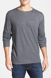 Merrell 'Geom' Moisture Wicking Long Sleeve T Shirt Granite Heather