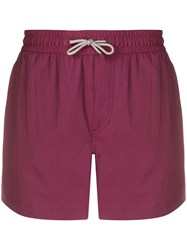 Brunello Cucinelli Elasticated Swimshorts Red