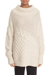 Prabal Gurung Women's Cable Knit Cashmere Sweater