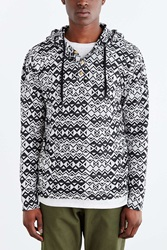 Koto Jacquard Pullover Hooded Shirt