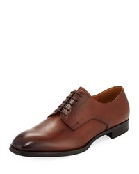 Giorgio Armani Smooth Leather York Derby Loafer Brown