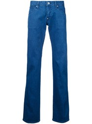 Factotum Straight Leg Jeans Blue