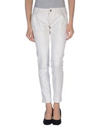 People Denim Pants White