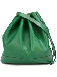 Hermes Vintage Marked Shoulder Bag Green