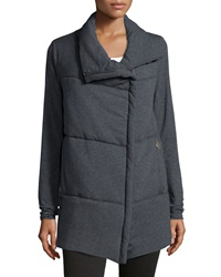 Spiewak Delano Cotton Blend Asymmetric Zip Front Jacket
