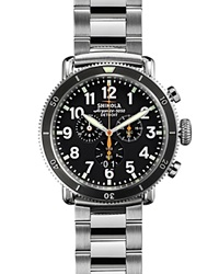 Shinola Runwell Chronograph Sport Watch 48Mm Black