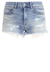 Ltb Pamela Denim Shorts Magia Wash Light Blue Denim