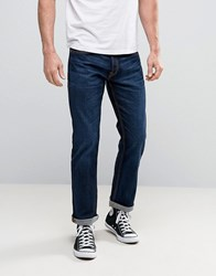 Jack And Jones Intelligence Jeans In Regular Fit Denim Rinse 871 Blue
