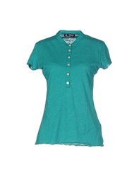 North Sails Topwear T Shirts Women Emerald Green