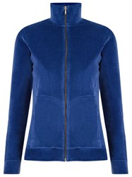 Lygia And Nanny High Collar Jacket Blue