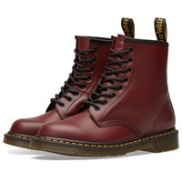 Dr. Martens 1460 8 Eye Smooth Leather Boot Red