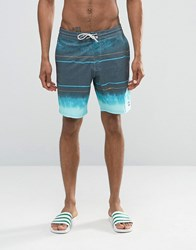 Billabong Spinner Marble Low Tides Swim Shorts Blue Grey