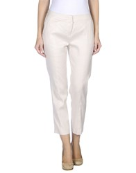 .Tessa Trousers Casual Trousers Women Beige