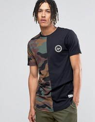 Hype T Shirt In Camo Black