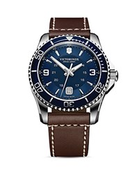 Victorinox Swiss Army Maverick Watch 43Mm Blue