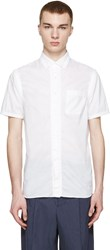 Kolor White Gathered Shirt