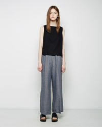 Samuji Bio Wide Leg Trousers Dusty Green