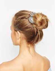 Aldo Yoillan Rhinestone Hair Bun Surround Clear
