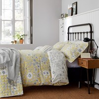 Sanderson Maelee Duvet Cover Sunshine Yellow
