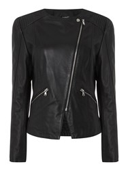 Therapy Billie Leather Jacket Black