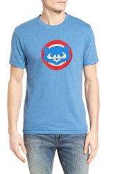 American Needle Men's Hillwood Chicago Cubs T Shirt