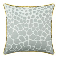 Roberto Cavalli Jerapah Silk Bed Cushion Grey