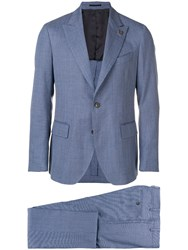 Gabriele Pasini Classic Two Piece Suit Blue