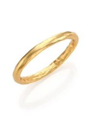 Stephanie Kantis Nugget Bangle Bracelet Gold