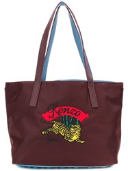 Kenzo Small Tiger Tote Brown