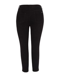 Melissa Mccarthy Seven7 Plus Skinny Fit Corduroy Pants Black