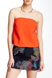Trina Turk Johannah Tube Top Red