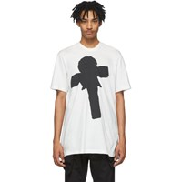 Julius White Graphic T Shirt