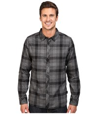 The North Face Long Sleeve Approach Flannel Tnf Black Men's Clothing