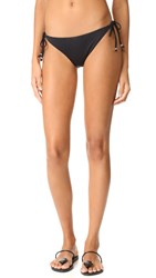 Shoshanna Clean String Bikini Bottoms Black