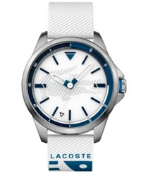 Lacoste Men's Capbreton White Silicone Strap Watch 46Mm No Color