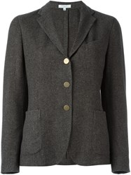 Boglioli Three Button Blazer Grey