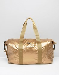 Puma Holdall Bag In Gold Gold