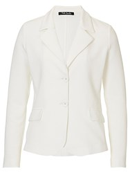 Betty Barclay Fine Textured Jacket Off White