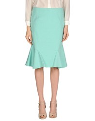 Guess By Marciano Skirts Knee Length Skirts Women Turquoise
