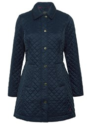 Joules Fairhurst Quilted Jacket Marine Navy