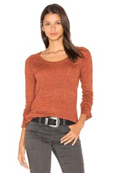 Sanctuary Renne Crew Neck Sweater Orange