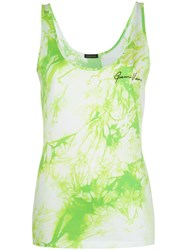 Versace Tie Dye Print Sleeveless Top 60