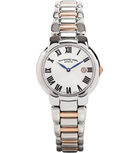 Raymond Weil 5229 S5 001659 Jasmine Rose Gold Plated Stainless Steel Watch Silver