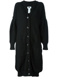 Maison Martin Margiela Mm6 Long Cardigan Black