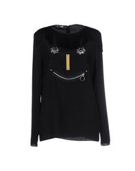 Moschino Cheap And Chic Moschino Cheapandchic Shirts Blouses Women Black
