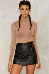 Kiss Me Once Sheer Bodysuit Taupe