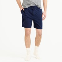 J.Crew Cotton Pajama Short In Navy