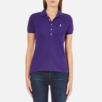 Polo Ralph Lauren Women's Julie Shirt Chalet Purple